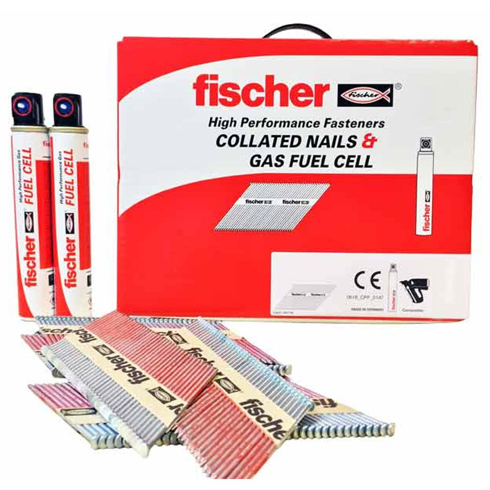 Fischer Gas Nails (first fix)