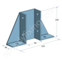 base plate wing-type double