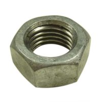 galvanised full nut