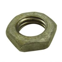 galvanised half nut