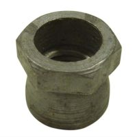 galvanised hex cone shear security nut