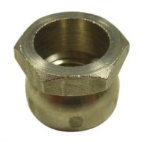 stainless hex cone shear security nut