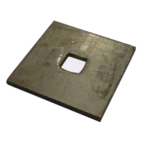 square hole plate washer