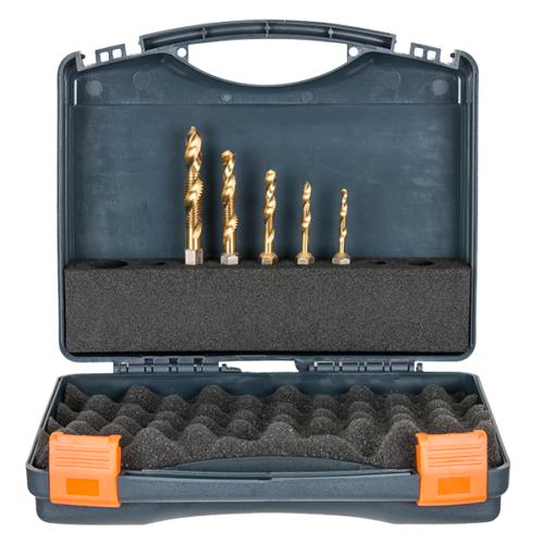 Combi Drill-Tap Set, M5, M6, M8, M10, M12 HMT-VD