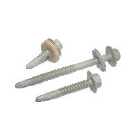Light section stainless steel drill screws