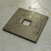 Square Hole Plate Washers