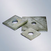 Galvanised Square Plate Washers