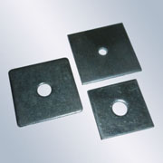 Zinc Plated Square Plate Washers