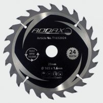 Cordless trim saw blades